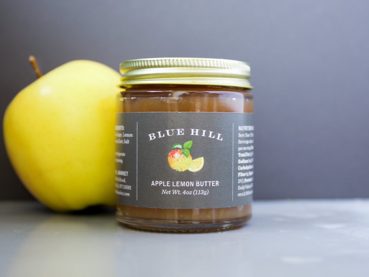 Blue Hill Apple Lemon Butter