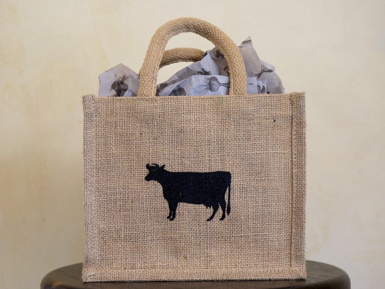 Blue Hill Jute Gift Totes ($6 to $10)