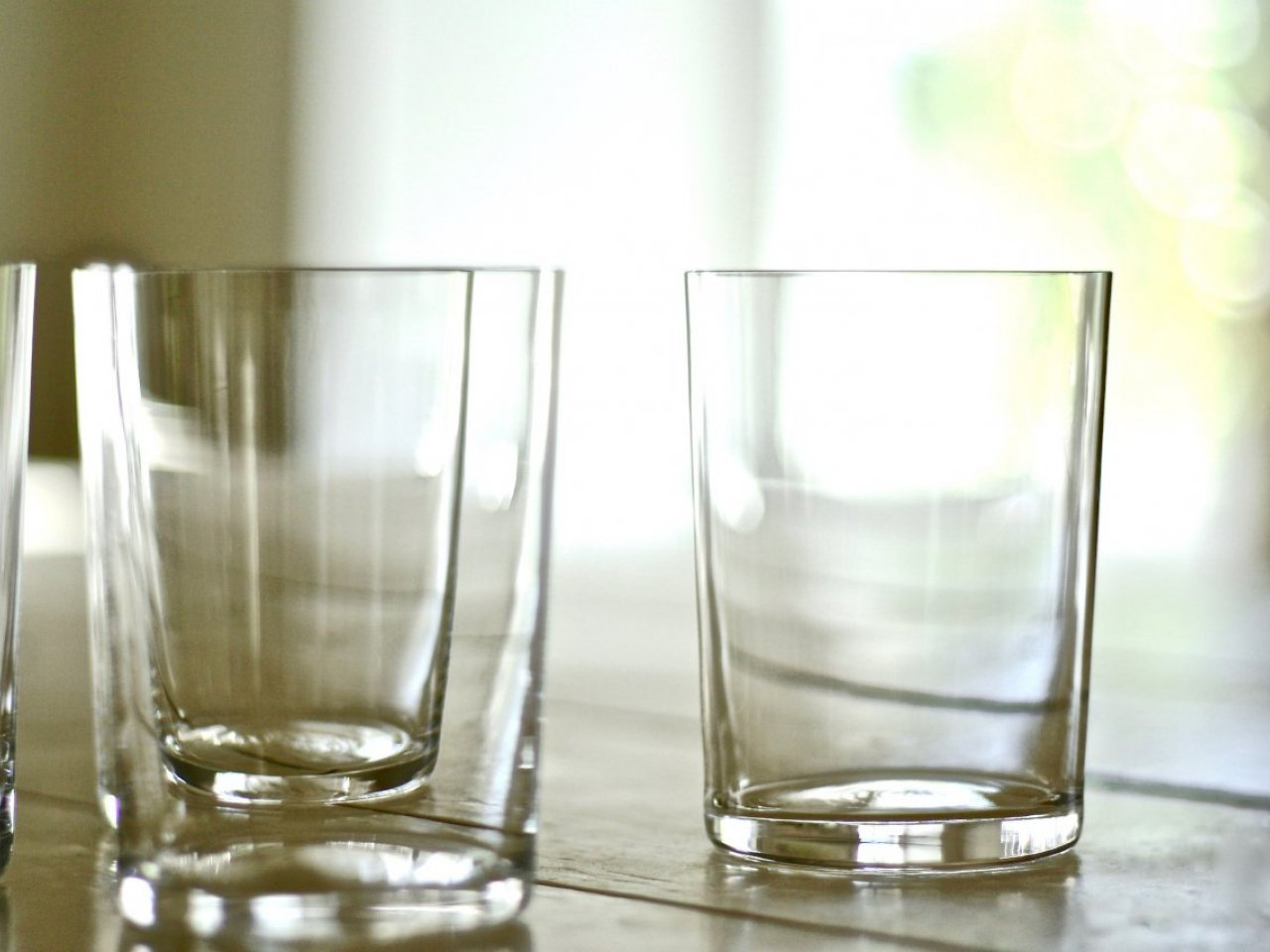 Crystal Water Glass - Set of 2