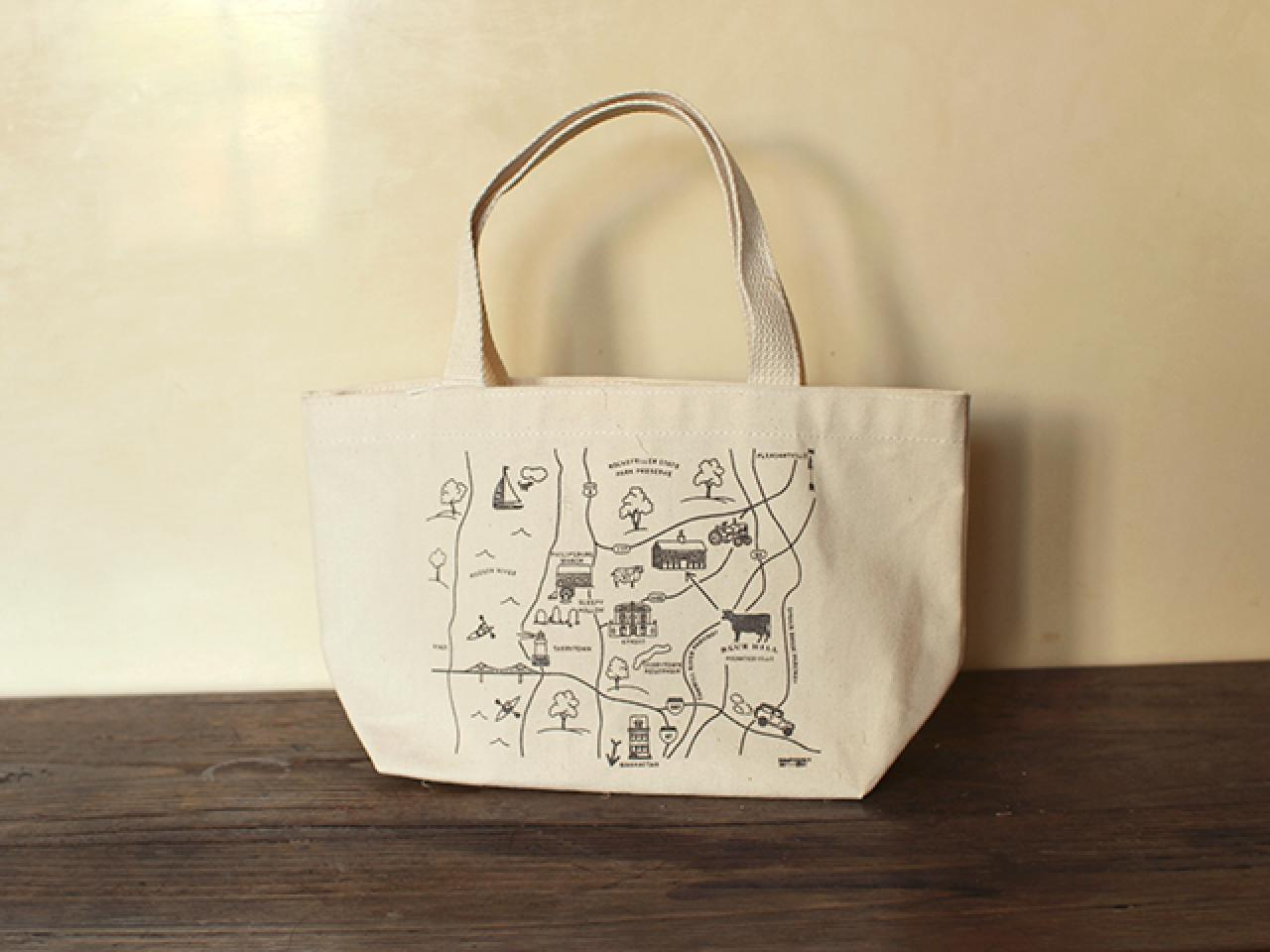 Canvas Maptote (Blue Hill Exclusive)