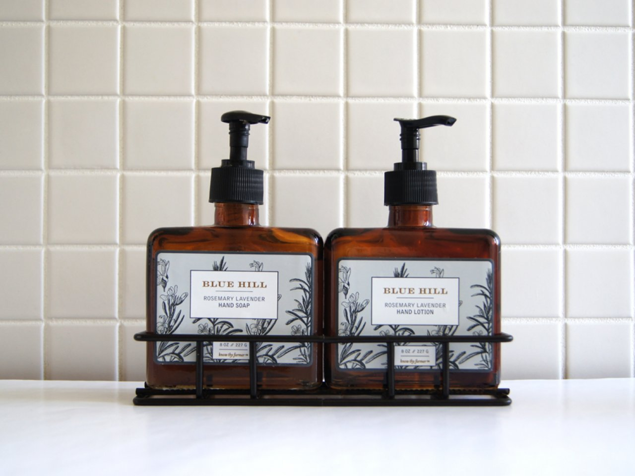 Blue Hill Hand Soap and Lotion Set