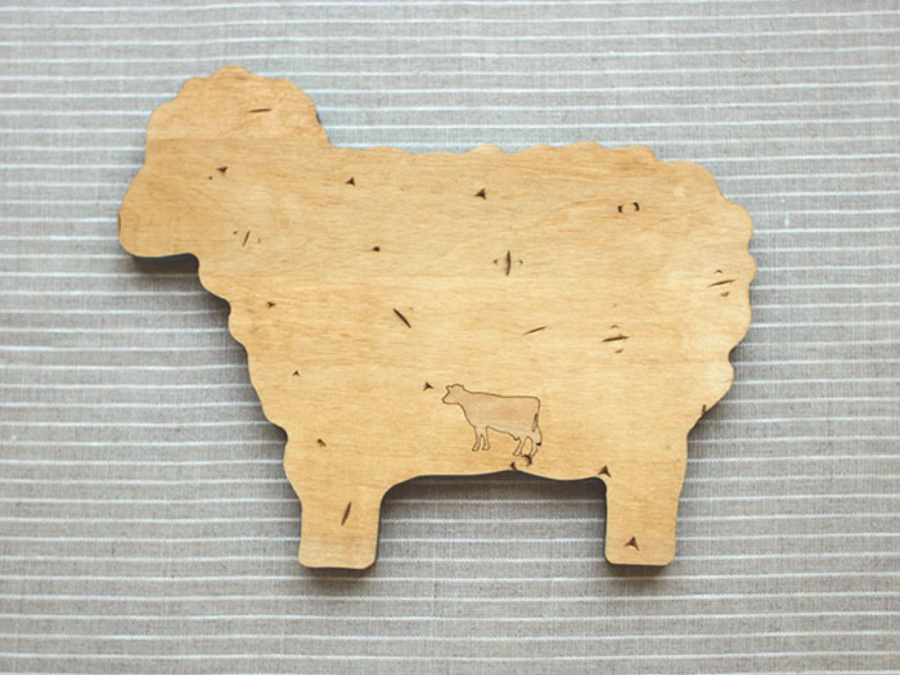 Mini Petit Four Board - Sheep